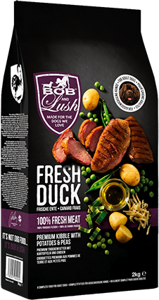 Free treat with Bob and Lush dog food Discount
