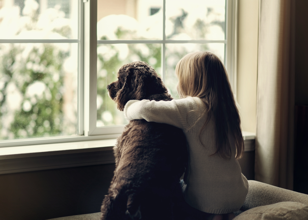 Dog and Child emotional support