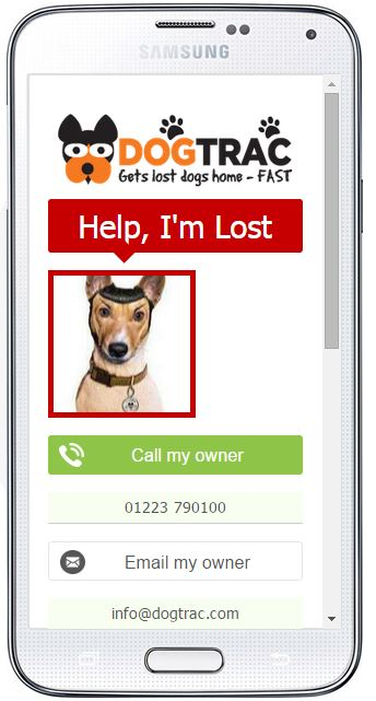 Free lost dog finder tracker app