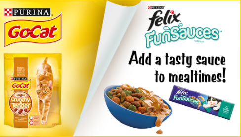 FELIX FunSauces Free Sample Pack fo cats