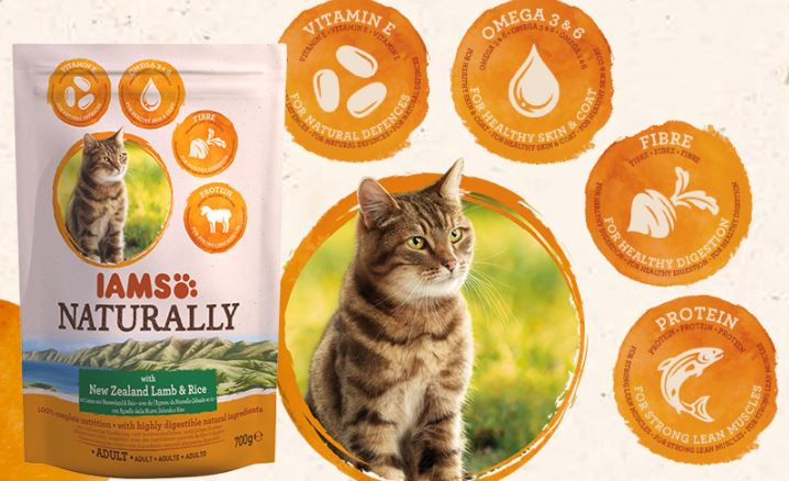 Free IAMs Naturally cat food