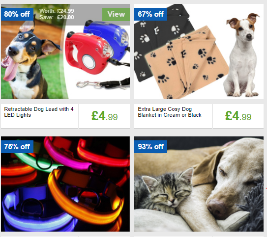 Mighty Deals Pet Supplies Discounts