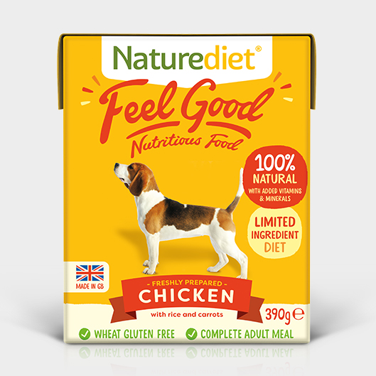 Naturediet free dog food pack