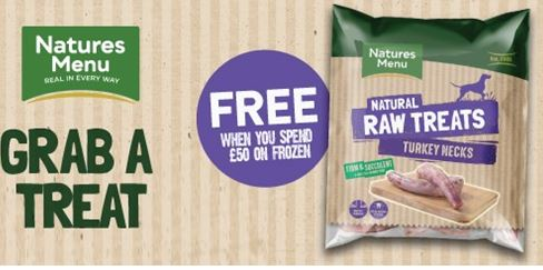 Free Natures Menu Dog Treat