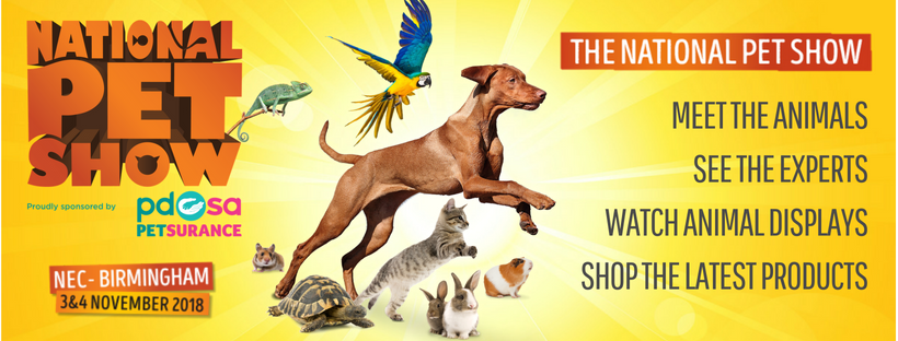 National Pet Show Discount Code 2018