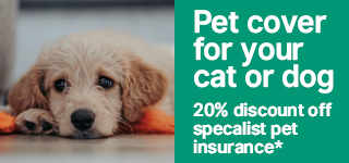 Pet Guard dog insurance discount