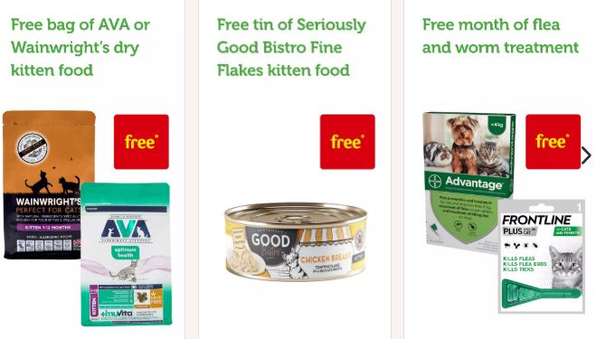 Free Wainrights Cat Food & Kitten Flakes