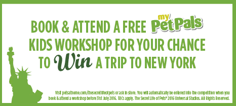 Free Pets at Home Workshop