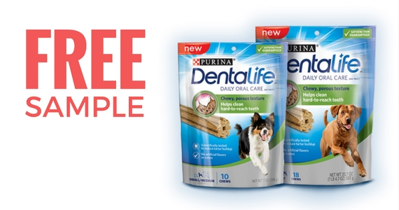 Purina Dentalife free sample