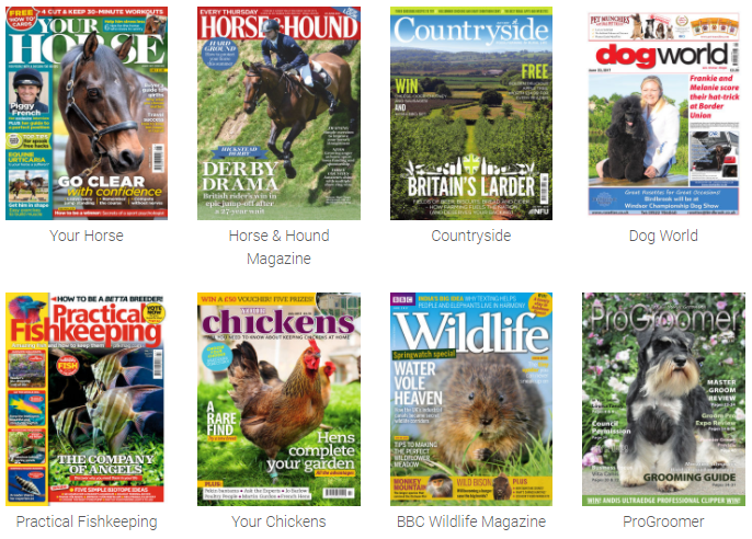 Free Pet/Animal Magazine with Readly app