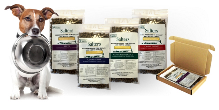Salters Dog Food Free Sample