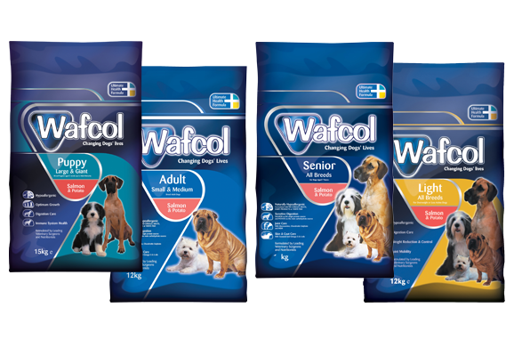 Wafcol dog food free sample
