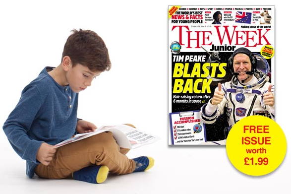 The Week Junior magazine free copy